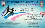 Inscrições para Corrida Rústica terminam nesta sexta-feira (29); veja como participar