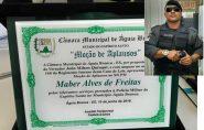 Mabim recebe Moção de Aplausos pelos relevantes serviços prestados à população