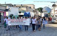 Passeata com estudantes marca comemorações da Semana do Meio Ambiente em Vila Pavão