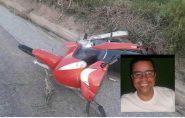 Homem morre em grave acidente de moto em Ecoporanga