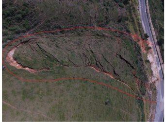 Rodovia é interditada por causa de deslizamento no Sul do Espírito Santo