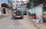Novos latões de lixo são disponibilizados em Barra de São Francisco