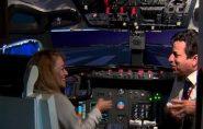 Simulador de voo construído por capixaba é aberto para visitação