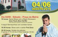 54ª FESTA DO PATRONO SENHOR DO BOM JESUS, Água Doce do Norte