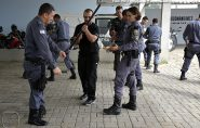 Policiais de Barra de São Francisco recebem treinamento com professor Raul, das forças armadas de Abu Dabi
