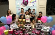 Família Cassundé Corteletti comemora 5 aninhos da pequena Maria Olívia