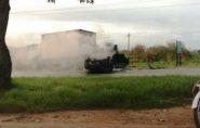 Acidente entre carro e caminhão deixa ferido na BR-101, no Norte do ES