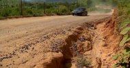 Motoristas esperam por obra de asfaltamento no Noroeste do ES desde 2012
