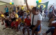 ES: torcedores cegos vibram e se emocionam ao acompanharem jogo do Brasil