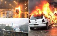Só este ano, 240 carros pegaram fogo no Espírito Santo