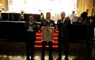 Tenente Coronel Luciano Suave recebe Prêmio de Excelência e Qualidade