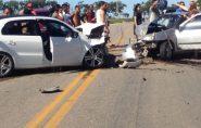 Duas pessoas morrem acidente de carro no Sul do Espírito Santo