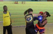 Representando Barra de São Francisco, Rayane Sinder é campeã de Muay Thai em Valadares