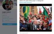 Senador Magno Malta publica foto fake que associa agressor de Bolsonaro a Lula