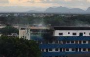 Criança morre após prédio pegar fogo em Vitória