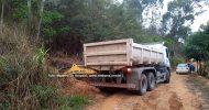Servidores da prefeitura iniciam trabalho de melhorias na Serra de Vargem Alegre e acesso à Rampa de Voo Livre