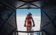 Americana bate recorde mundial de velocidade em uma bicicleta; vídeo