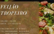 A Igreja Batista do Calvário estará realizando a venda de marmitex de feijão tropeiro.