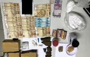 Polícia Militar apreende grande quantidade de drogas em Vargem Alegre