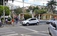Briga na praça central de Barra de São Francisco termina com homem esfaqueado no pescoço