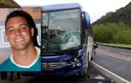 ES: bombeiro morre após bater com moto de frente em ônibus da Viação Águia Branca