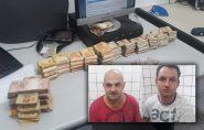 Dupla é presa com R$ 100 mil furtados de banco no Espírito Santo