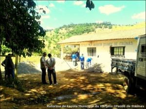 Reforma da Escola Municipal do Vargem Grande do Itaúnas