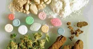 DROGAS - TIPOS DE DROGAS