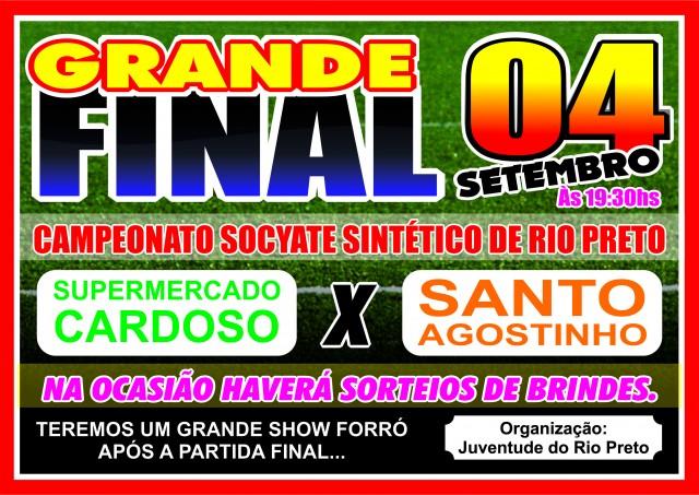FINAL DO CAMPEONATO SOCYET DO RIO PRETO