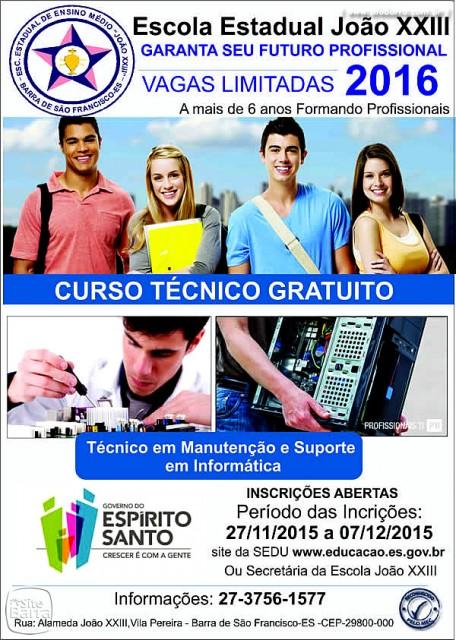 SiteBarra+Barra+de+Sao+Francisco+BANER CURSO TECNICO0
