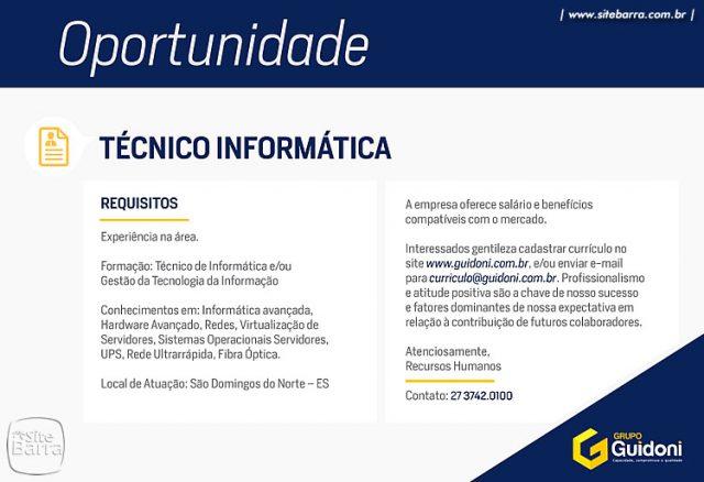 SiteBarra+Barra+de+Sao+Francisco+tecnico de informatica0