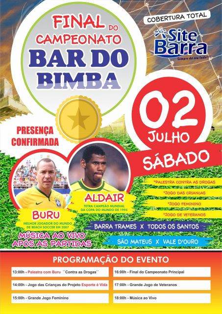 FINAL DO CAMPEONATO BAR DO BIMBA