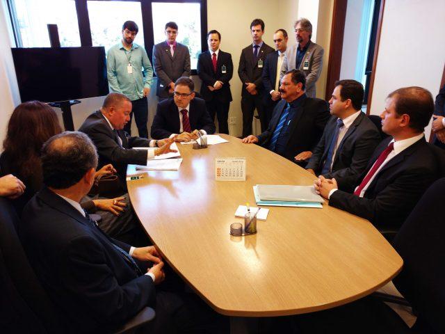 OAB-ES em audiência de Conciliação. Foto: Divulgação.