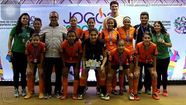 b6bc7162ac Equipe de Futsal Feminino de Barra de São Francisco é Campeã ...