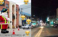 Após piadas e reclamações, prefeitura de Barra de São Francisco retira Papai Noel do