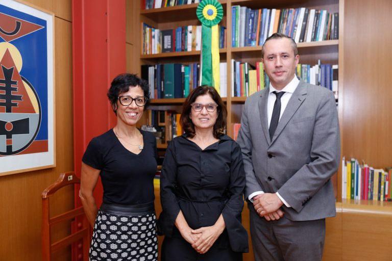 Secretaria discute parcerias com Instituto Brasileiro de Audiovisual